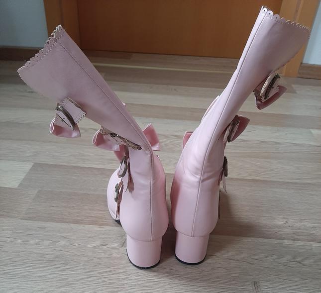 Bl shoes pink back