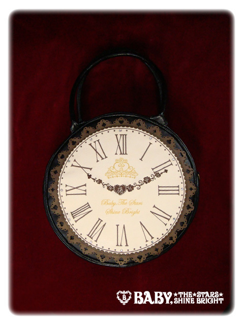 Alice clock bag bk