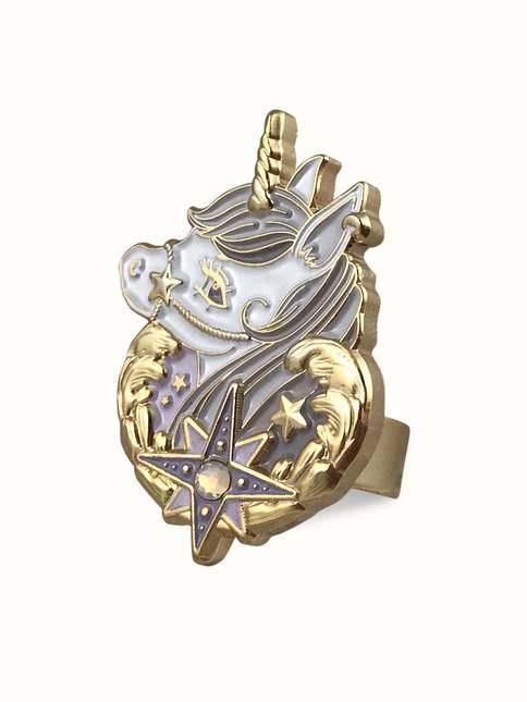 Dreamyunicorn lavender ring