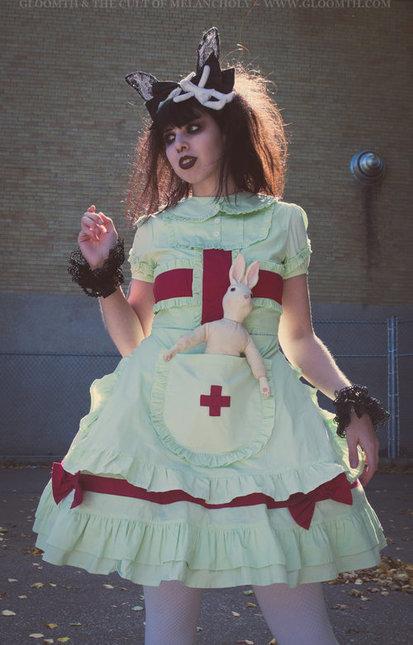 Lolita 20nurse 20dress
