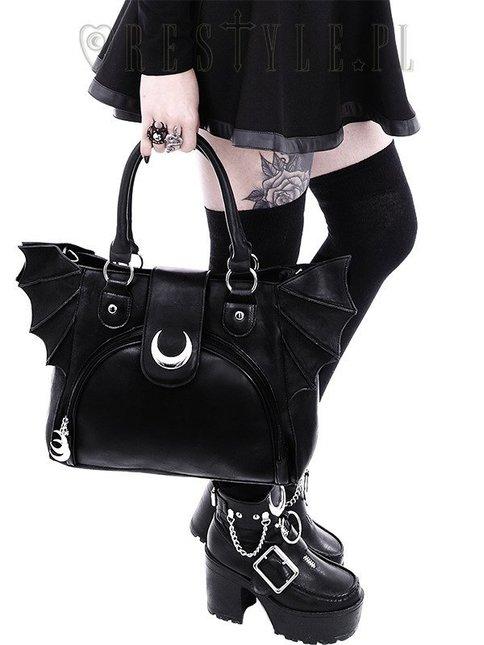 Eng pl moon bat bag elegant goth purse 1798 7