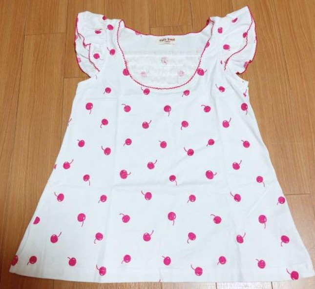 Etc 20cherry 20print 20shirring 20frill 20camisole 20in 20white 20x 20pink
