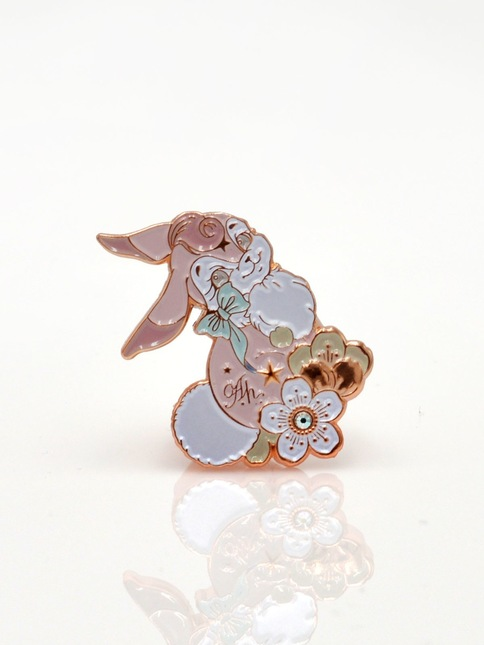 Automatic 20honey 20  20bunny 20ring 20(pink) 201