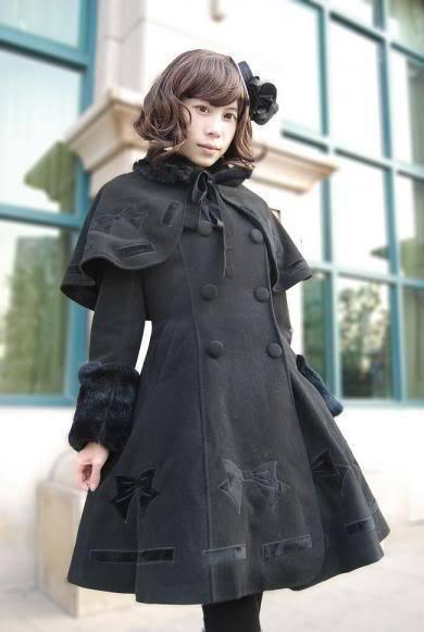 Infanta bow embroidery coat set