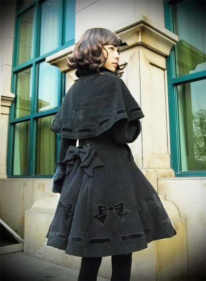 Infanta bow embroidery coat set 3