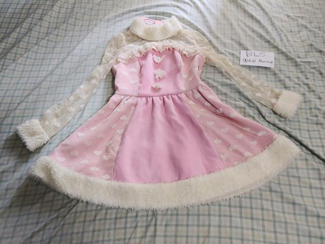 Candy rain pink dress