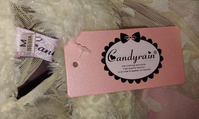 Candy rain pink dress tag